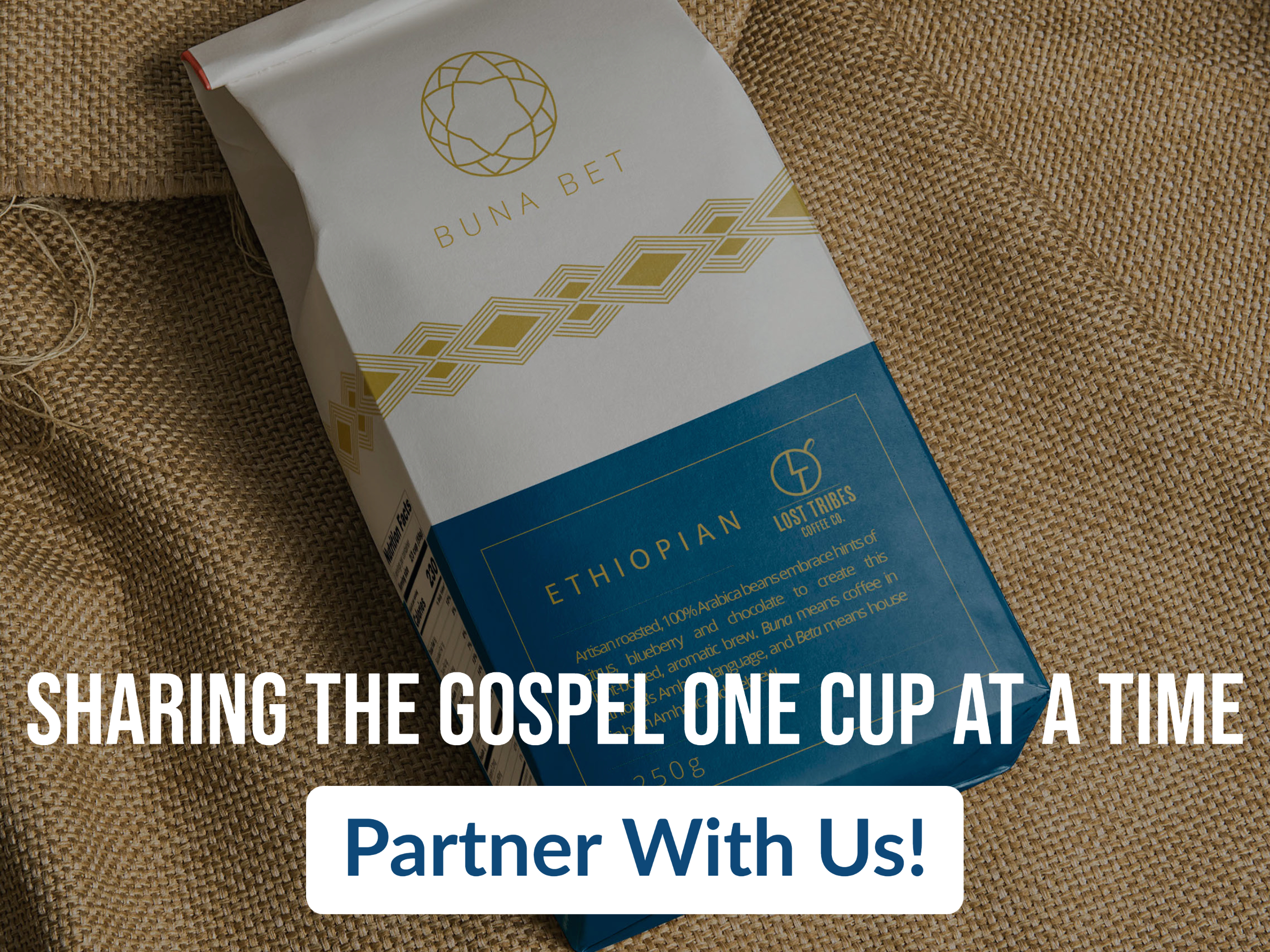 Sharing the Gospel - one cup at a time